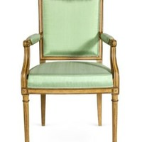 One Kings Lane - Kelly Wearstler: Modern Glamour - Mint Armchair