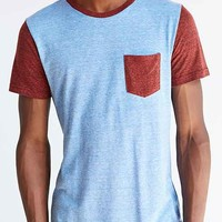 Triblend Colorblock Pocket Tee-