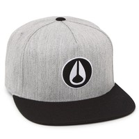 Nixon Rockwell Snapback Hat - Mens Backpack - Grey Heather/Black - One