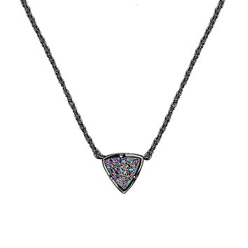 Perry Pendant Necklace in Multi-Color Drusy - Kendra Scott Jewelry