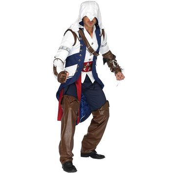 Assassins Creed Connor Deluxe High Quality Adult Costume for Men