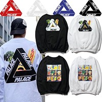 PALACE SKATEBOARDS PAYNE 17SS Vegetable/Hot Dog LONGSLEEVE Tshirt M---XXL