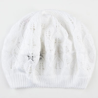 Lightweight Womens Beret White One Size For Women 23651215001