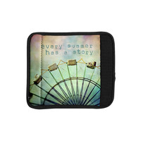 "Sylvia Cook ""Every Summer Has a Story"" Luggage Handle Wrap"