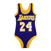 2016 New Women One Piece Swimwear Basketball 24 Sport Bodysuit High Cut Swimsuit Beachwear maillot de bain plavky plus size