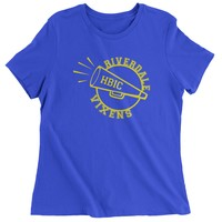 Riverdale Vixens Cheerleading Womens T-shirt