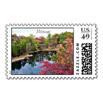 Missouri Fall Photograph Stamp