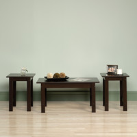 Sauder Beginnings 3 Piece Coffee Table Set