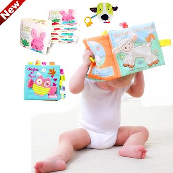 Children's Cloth Book toys Developing educational baby soft books