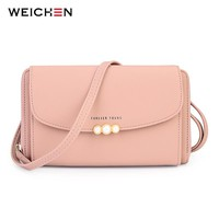 WEICHEN New Designer Women Shoulder Bag Purse Leather Women Messenger Bags Female Clutch Crossbody Bag For Ladies Bolsa Feminina