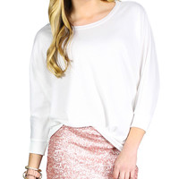 A Touch of Blush Skirt