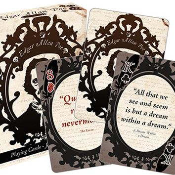 Edgar Allen Poe | PLAYING CARDS