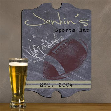 Vintage Sports Man Cave Pub and Tavern Signs - TFOOTBALL