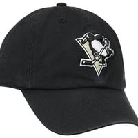 NHL Pittsburgh Penguins '47 Franchise Fitted Hat, Black, Small