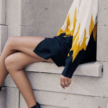 WILDFOX | Hex Sweater - Fired Up