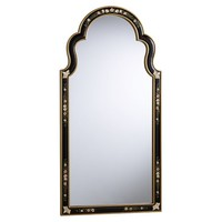 Elaborate Arched Mirror