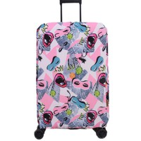 Luggage Protector Beautiful Suitcase Cover Printed Luggage Shield 19''-22''#05