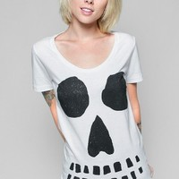 Glamour Kills Clothing - Girls Ghoulish Intentions Scoop Tee