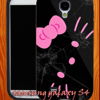 Hello-Kitty-Broken-Glass-Samsung-Case-iphone-Case - cover cases for iphone 5,4,4s and samsung galaxy s2,s3,s4-A19062013-7