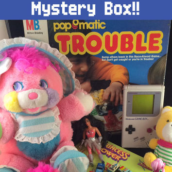1980s Mystery Box of Vintage Toys and Collectibles - Customized and Hand-picked Loot