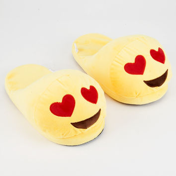 Heart Eyes Emoji Slippers | Slippers