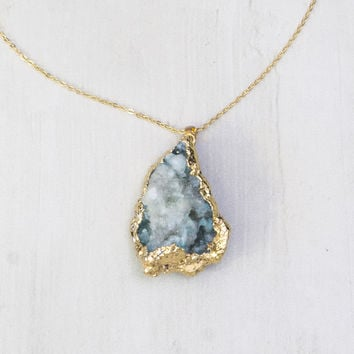 Octavio Geode Necklace