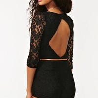 Belted Lace Romper