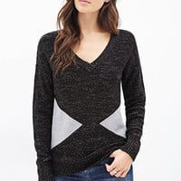 LOVE 21 Triangle Pattern Sweater