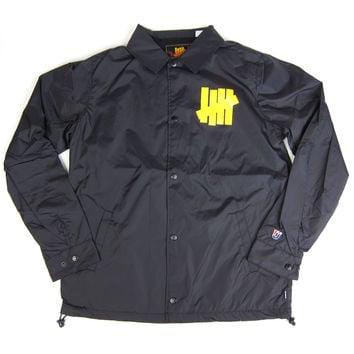 Undefeated: Bad Sports Coach Jacket - Black