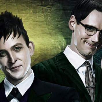 Penguin and Riddler