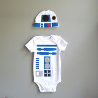 R2D2 Baby Costume - Star Wars Baby Clothes