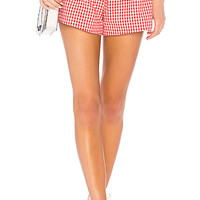 Privacy Please Saffron Short in Red | REVOLVE