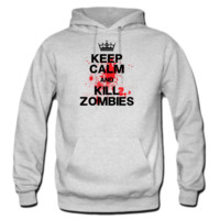 Keep Calm and Kill Zombies Hoodie
