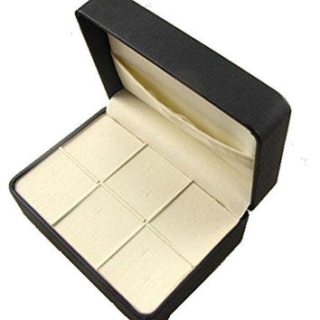Men's Small Jewelry Box for Cufflinks/ Tie Clips