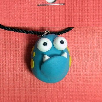 I Need Friend Pendant  Handmade by The Happy by TheHappyAcorn