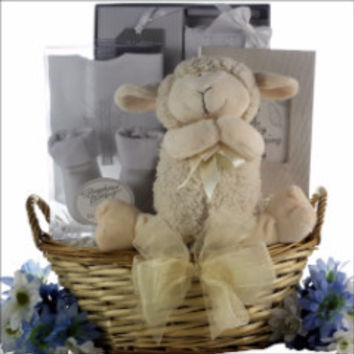 Bless This Baby Christening Gift Basket