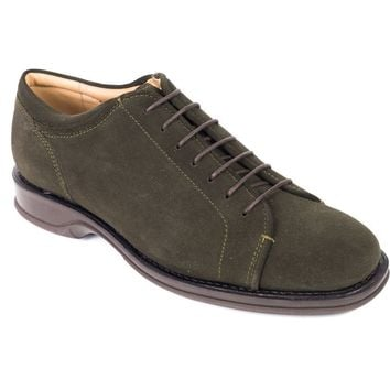 Church's Car Shoe Dark Green Lace Up Oxfords