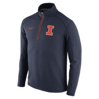 Nike College Game Day Half-Zip Knit (Illinois) Men's Top
