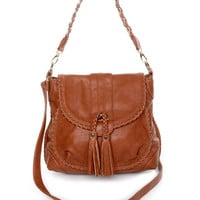 Saddle Up Brown Handbag by Urban Expressions