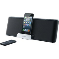 Sony Lightning Speaker Dock for Ipad, Ipod, and Iphone Compatible with Iphone 5, Ipod Touch 5th Generation and Ipod Nano 7th Generation, Ipad 4th Gen, Ipad Mini, Includes Wireless Remote, Auxiliary Audio Input, Rechargeable Battery & Integrated Bass Boost,