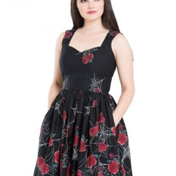 Hell Bunny Sabrina 50s Dress | Attitude Clothing