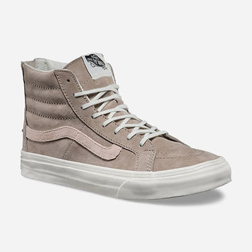 VANS Croc Emboss SK8-Hi Slim Zip Womens Shoes | Sneakers