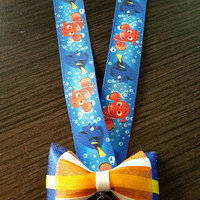 Finding Nemo Lanyard Classic or with Mini Bow