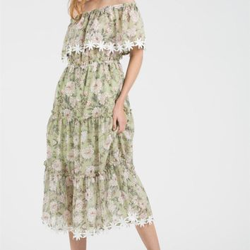 Daisy Dream Floral Maxi Dress