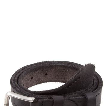 Shea Scalloped Leather Belt