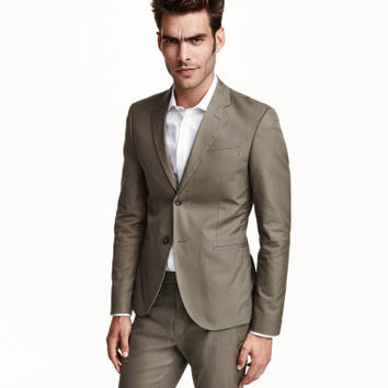 H&M Cotton Blazer $79.99