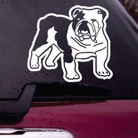Bulldog Decal Sticker Vinyl Decal Sticker Art Graphic Stickers Laptop Car Window