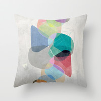 Graphic 100 Throw Pillow by Mareike Böhmer Graphics