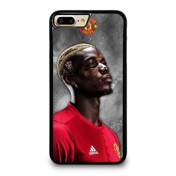 paul pogba manchester united iphone 4 4s 5 5s se 5c 6 6s 7 8 plus x case  number 1