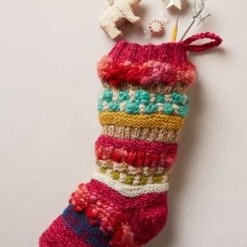 Spice Market Stocking by Anthropologie Pink One Size House & Home